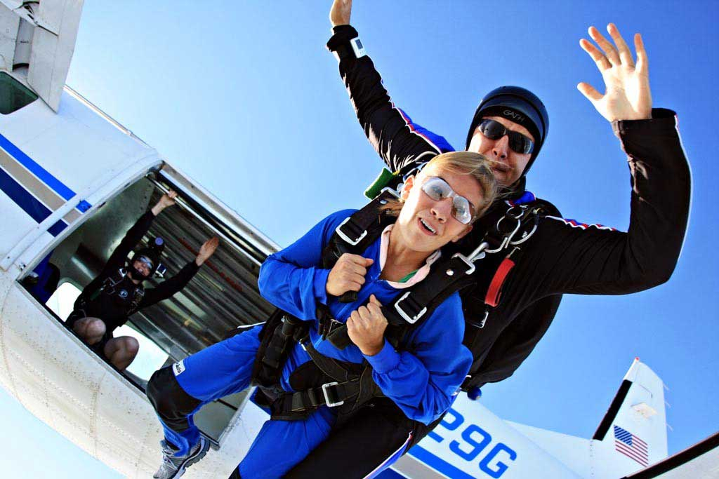 Skydiving evansville in